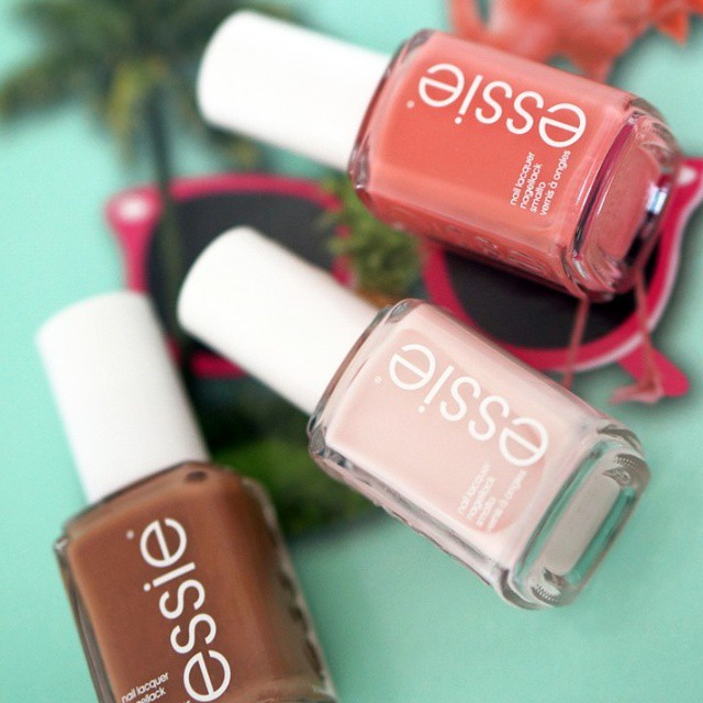 Which one do you like the most? #Essie#essieresort2015#essiefan
