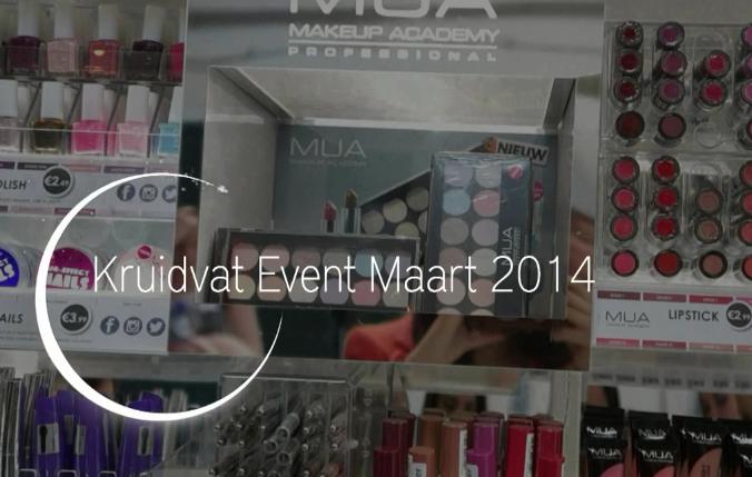 Video kruidvat event maart 2014 mua verkooppunten for Kruidvat leyweg