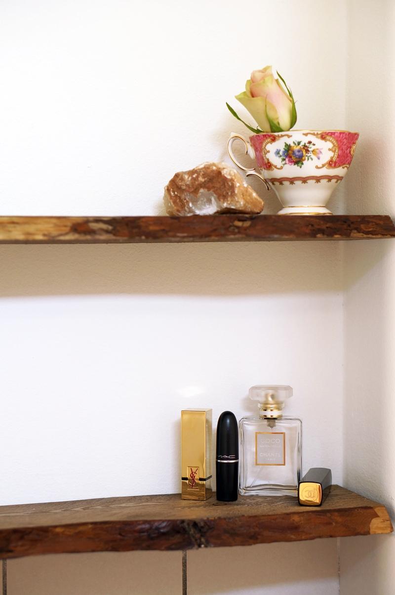 Houten Wandplank Keuken : Wat heb je nodig/wat heb ik gebruikt? (niet alles is afgebeeld)