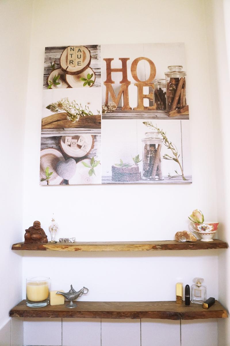 Robuuste/Boomstam Wandplank DIY - Beautyill