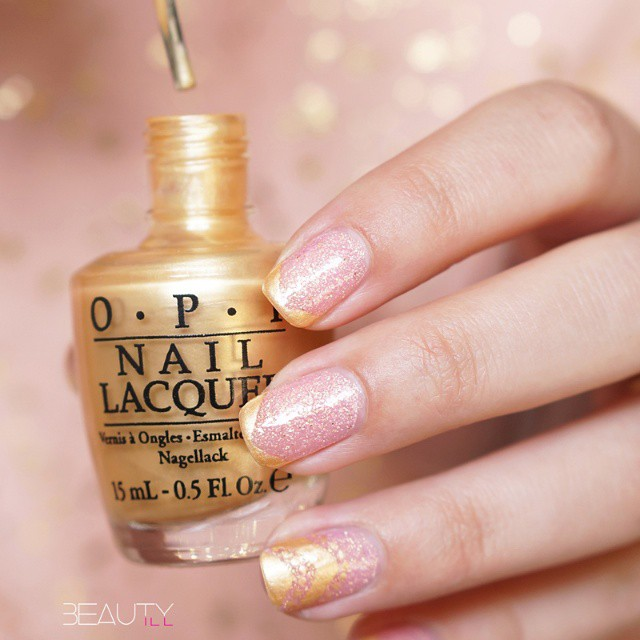 Today' s NOTD, H&M Candy Crush and OPI Rollin in…