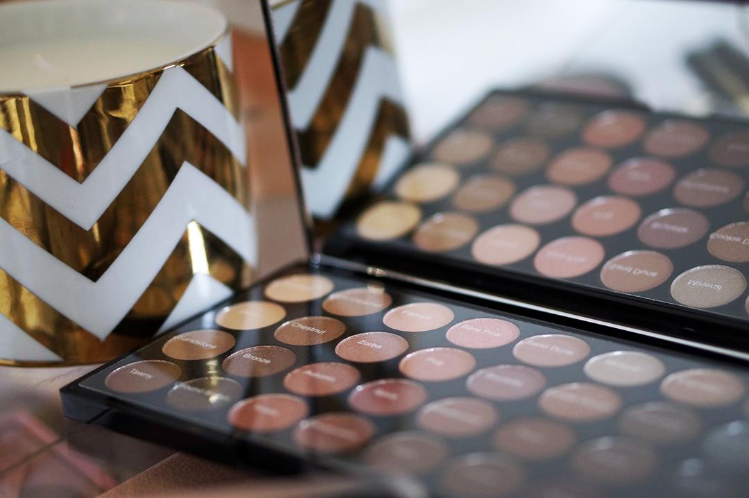 ... shadow palette · makeup revolution beyond flawless ultra eyeshadows 32 4 · shade names m i s s b e a u t y a d i k t ...