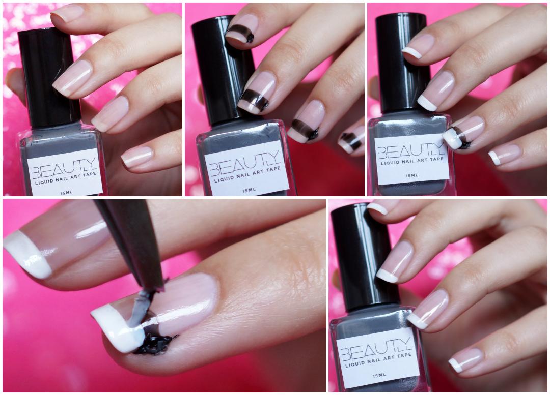 Liquid Nail Art Tape Beautyill