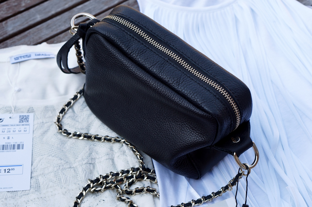 Schoudertas Uitgaan : Mini log zara tassen