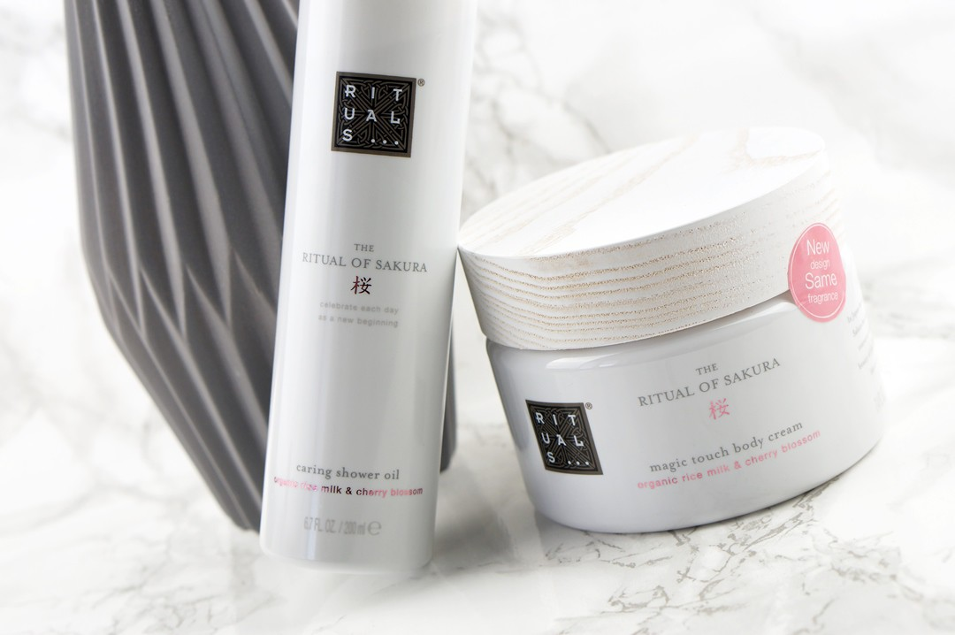 rituals the ritual of sakura body cream shower oil. Black Bedroom Furniture Sets. Home Design Ideas