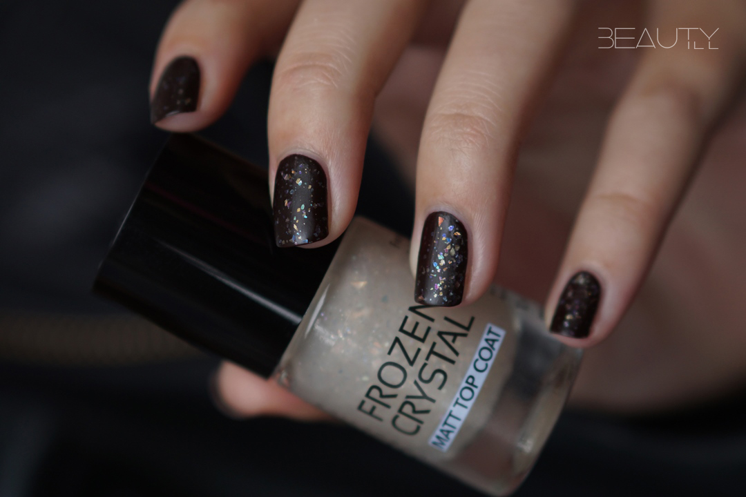 NOTD Catrice Noir Marron Frozen Crystal