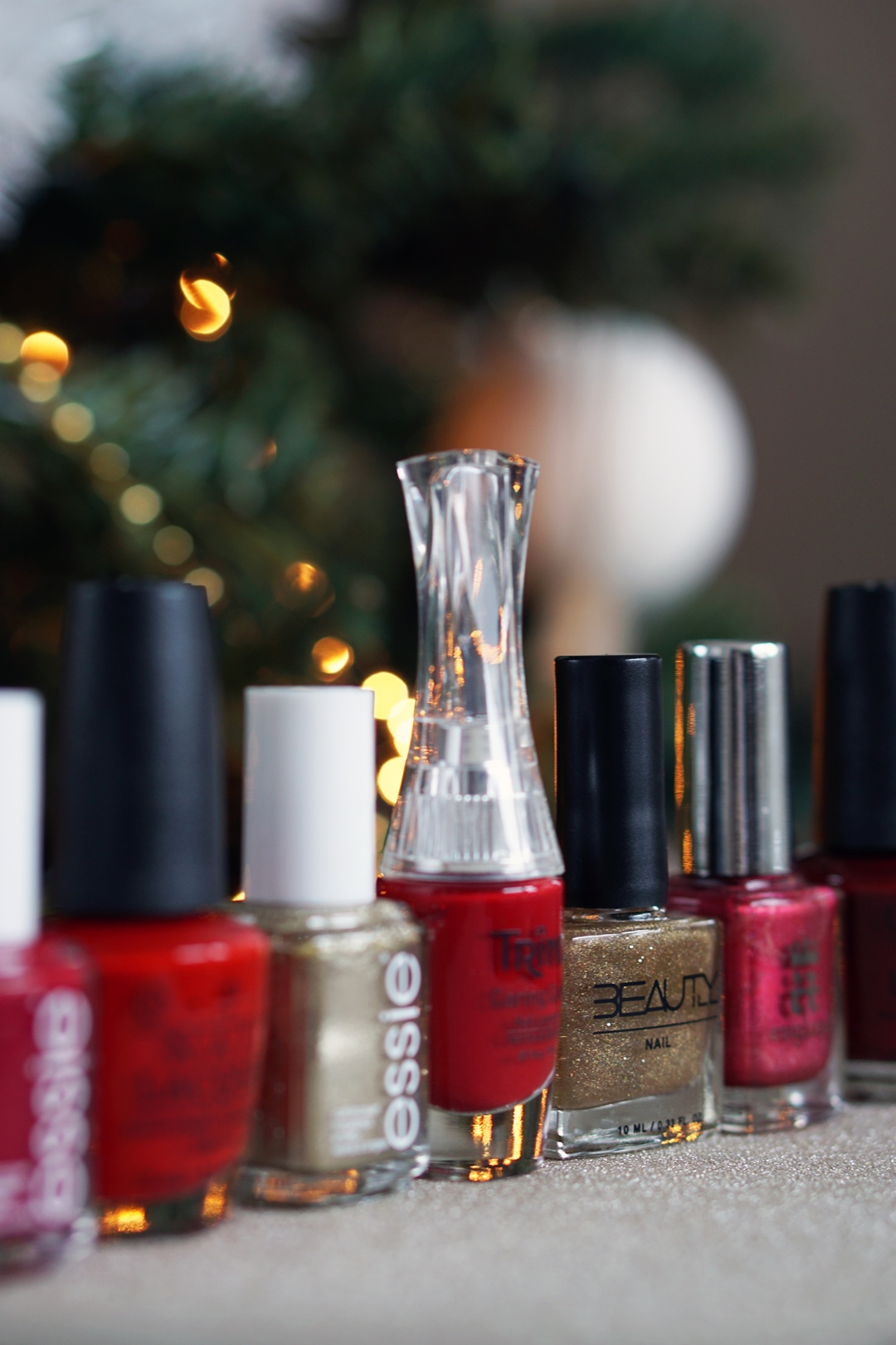 Actie Tijn 3FM Serious Request / favoriete kerst nagellak