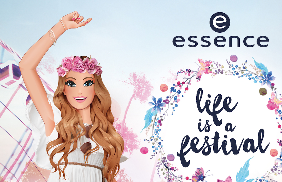 """essence trend edition """"life is a festival"""""""