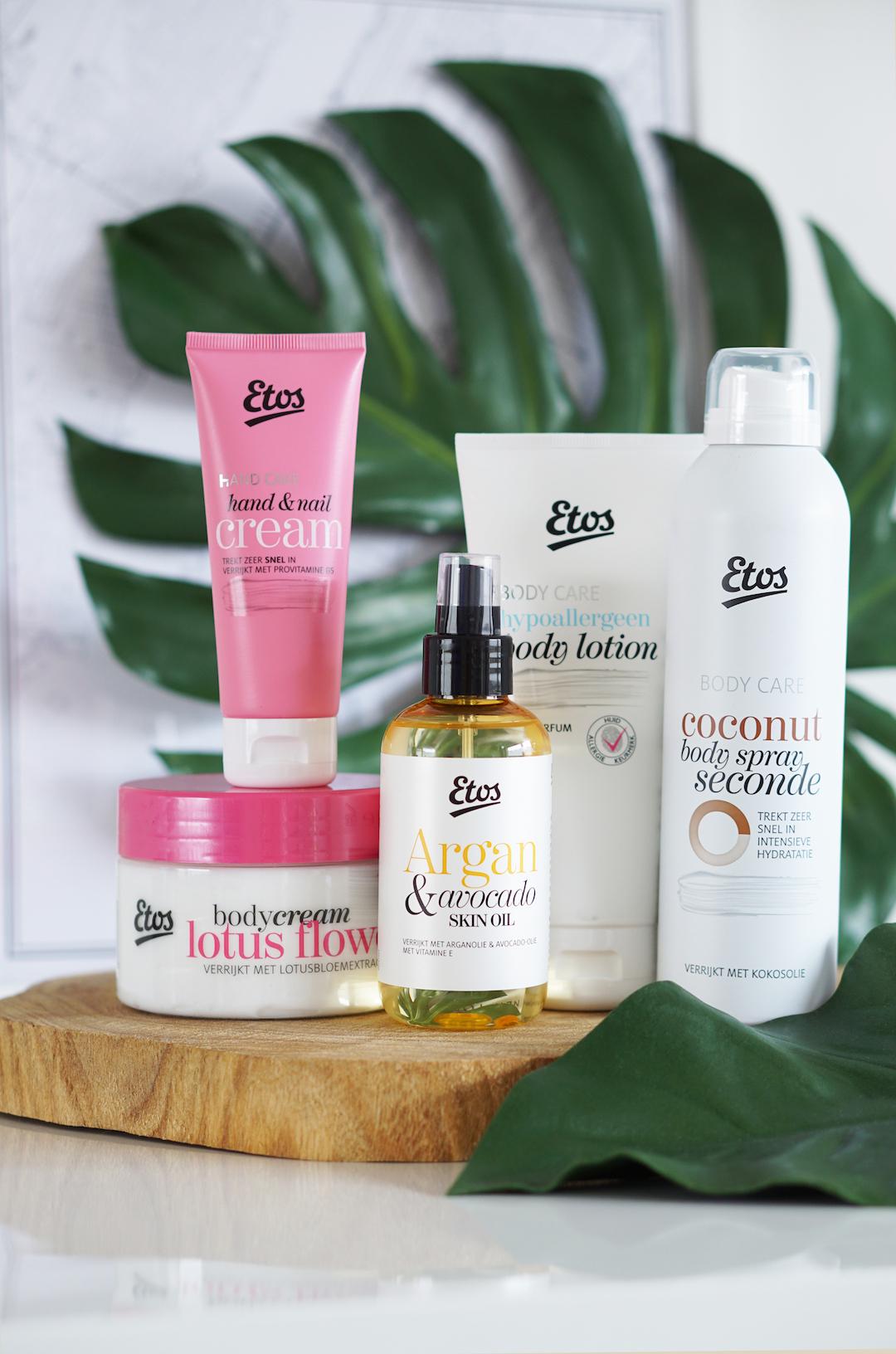 Etos bodyproducten & skin oils