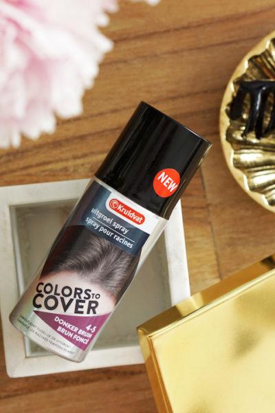 Kruidvat Colors to Cover, uitgroeispray