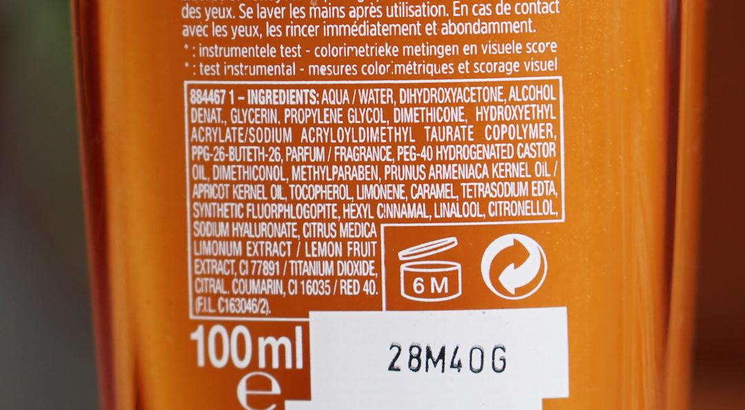 L'Oréal Paris Sublime Bronze, zelfbruinend serum
