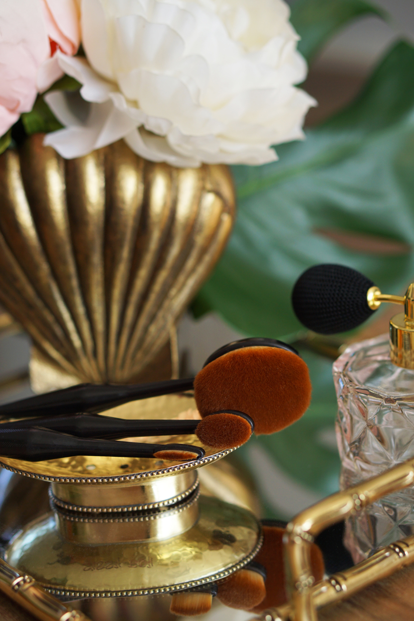 Action make-up kwasten, oval brushes