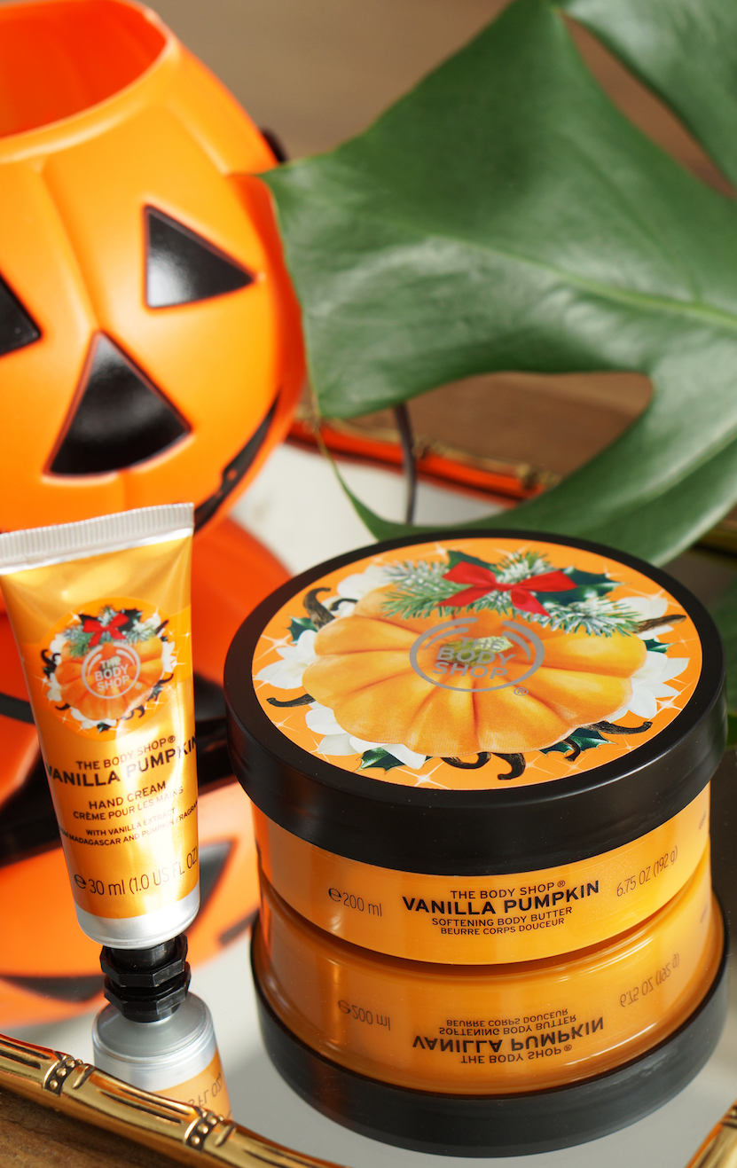 The Body Shop Special Edition Vanilla Pumpkin, Halloween
