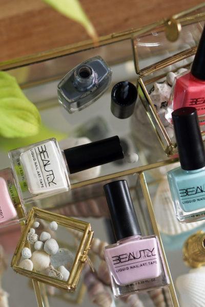 WIN 10X Liquid nail art tape (kleur naar keuze)