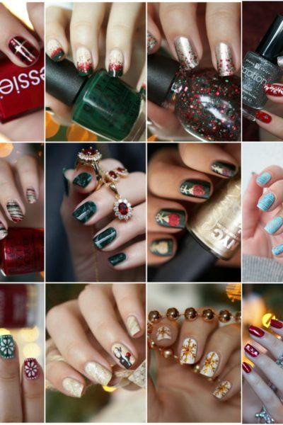 Overzicht Kerstmis nail art 2017
