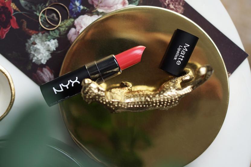 NYX Soft Matte Lip CreamAntwerp & Matte Lipstick Angel