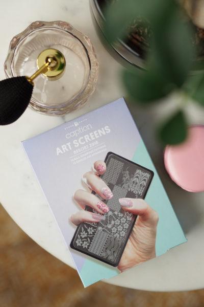 CAPTION Resort Collection 2018 Art Screen Kit (+ nail art)