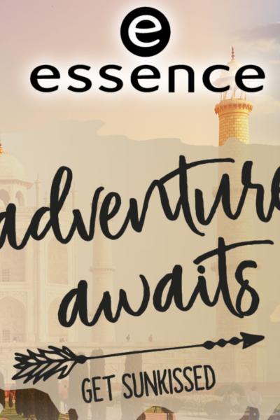 "essence trend edition ""adventure awaits – GET SUNKISSED"""
