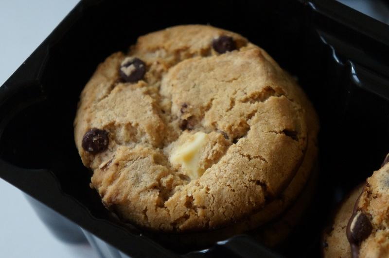 Apple Crumble met Chocolate Chip Cookies