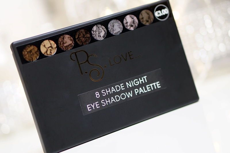 Primark P.S. Love... 8 Shade Night Eye Shadow Palette