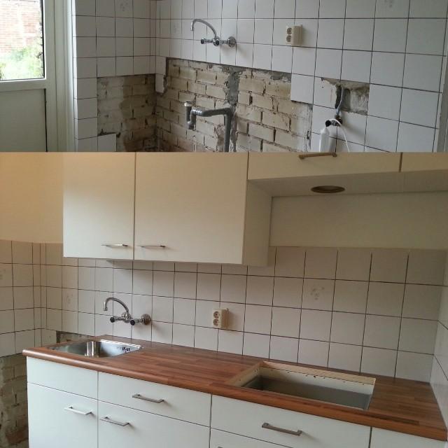 keuken renovatie woningbouw