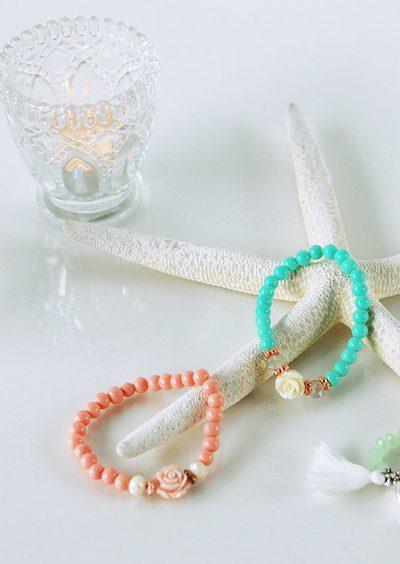 Zelf eenvoudig rozen armbandjes maken