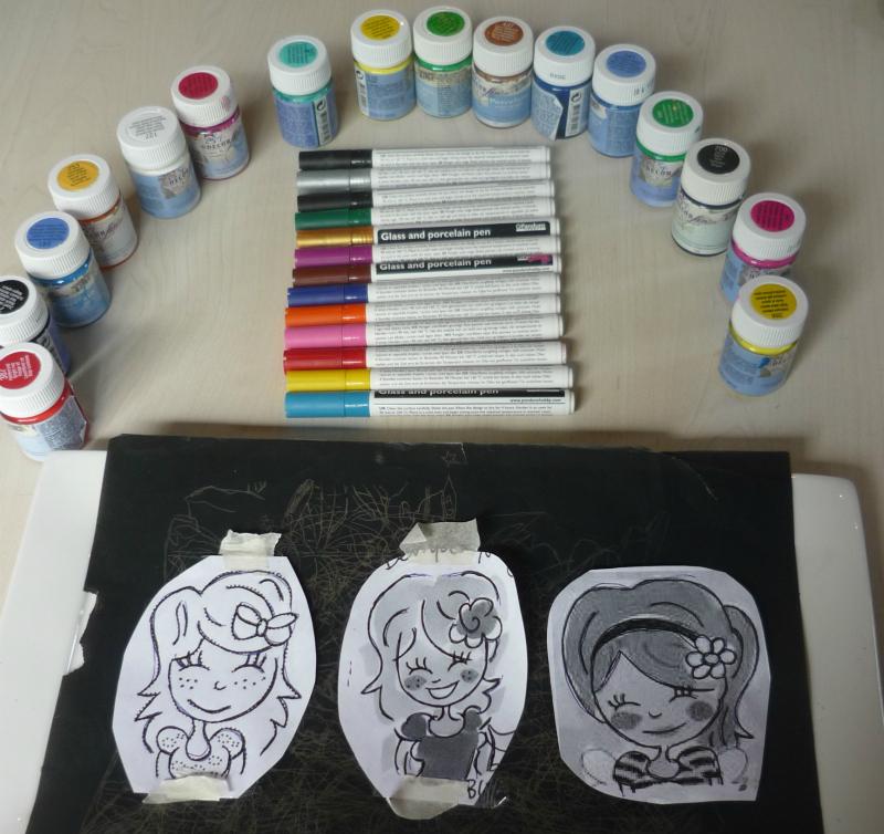 DIY Porselein beschilderen