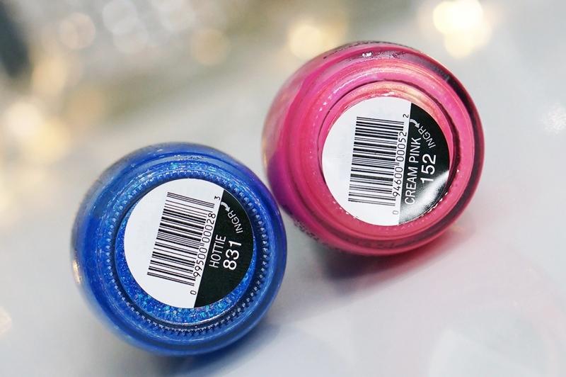 Sinful Colors, Hottie & Cream Pink (te koop bij Kruidvat!)