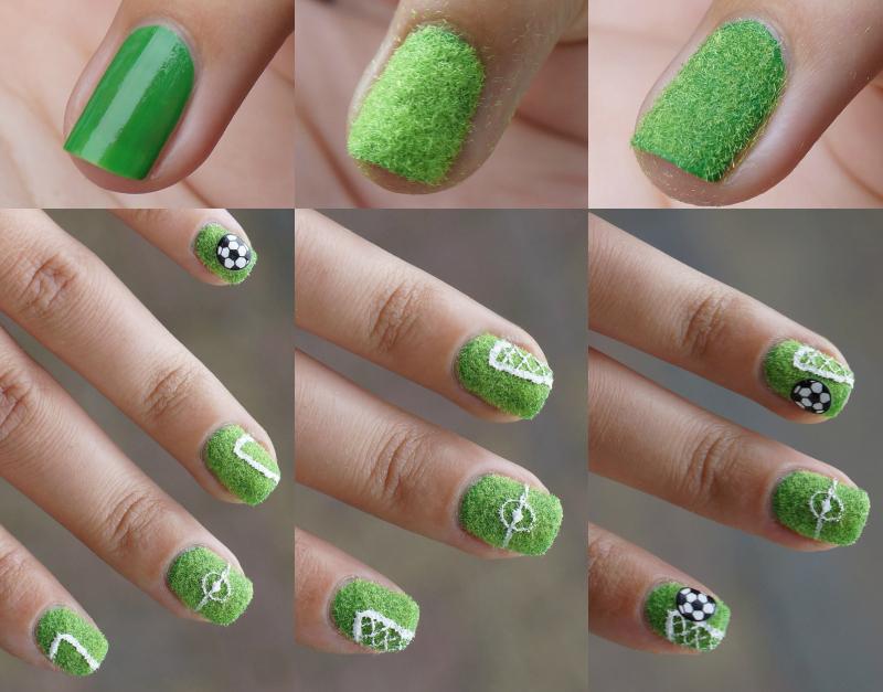 WK-2014-Nail-Art-Voetbal-Soccer
