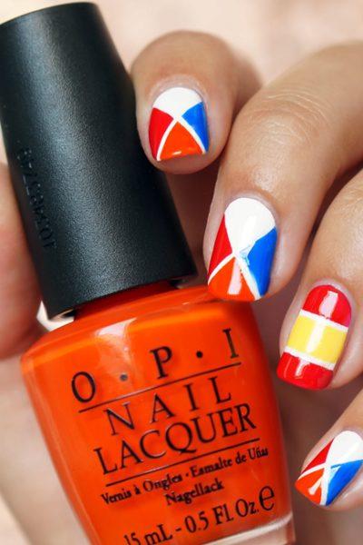 Nail Art WK 2014 Nederland-Spanje, Scoor met je nagels!