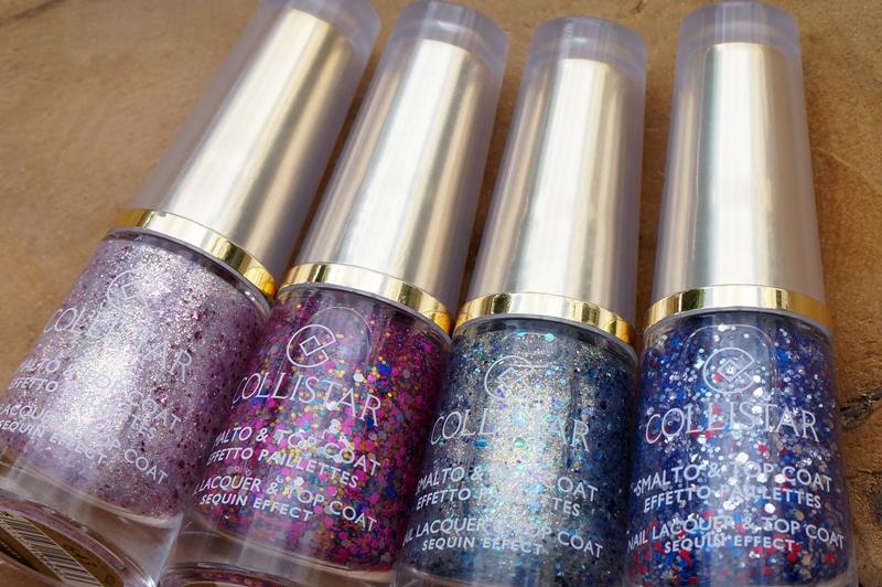 Collistar Nail Lacquer & Top Coat Confetti Effect