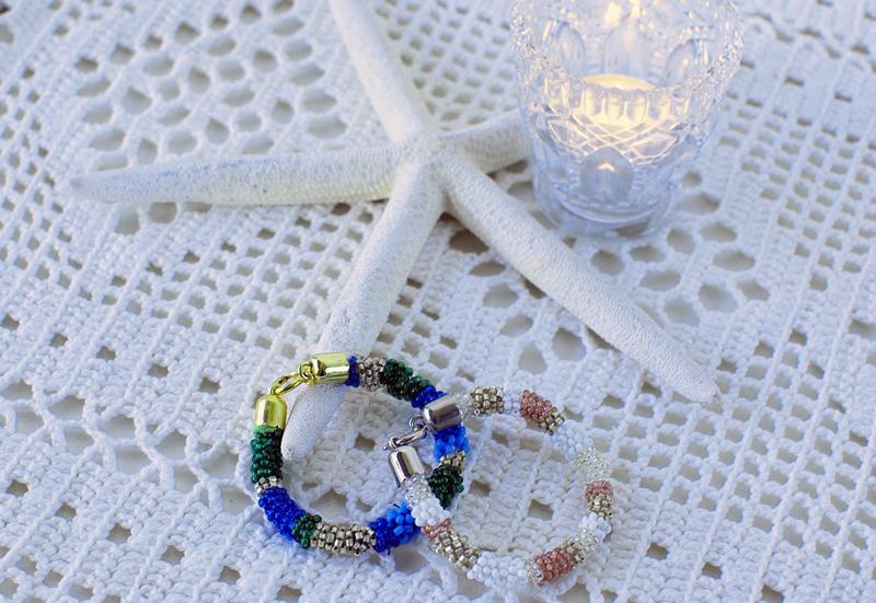 Armband met kraaltjes maken