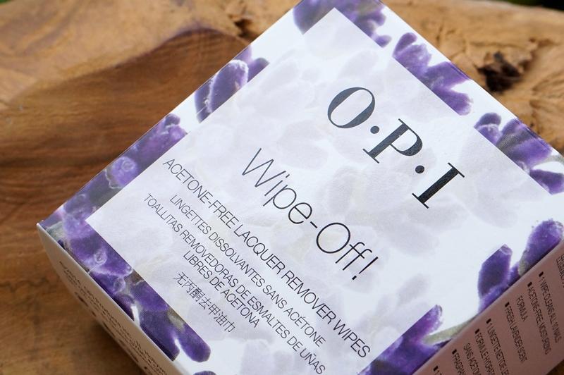 OPI Wipe-Off! Nagellak remover pads, ideaal voor mee op reis!