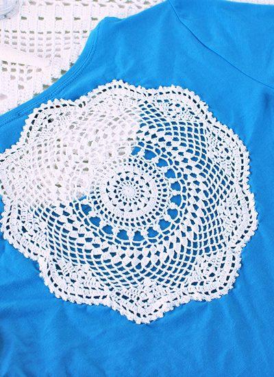 Mandala t-shirt maken, DIY
