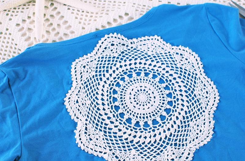 Mandala t-shirt, DIY