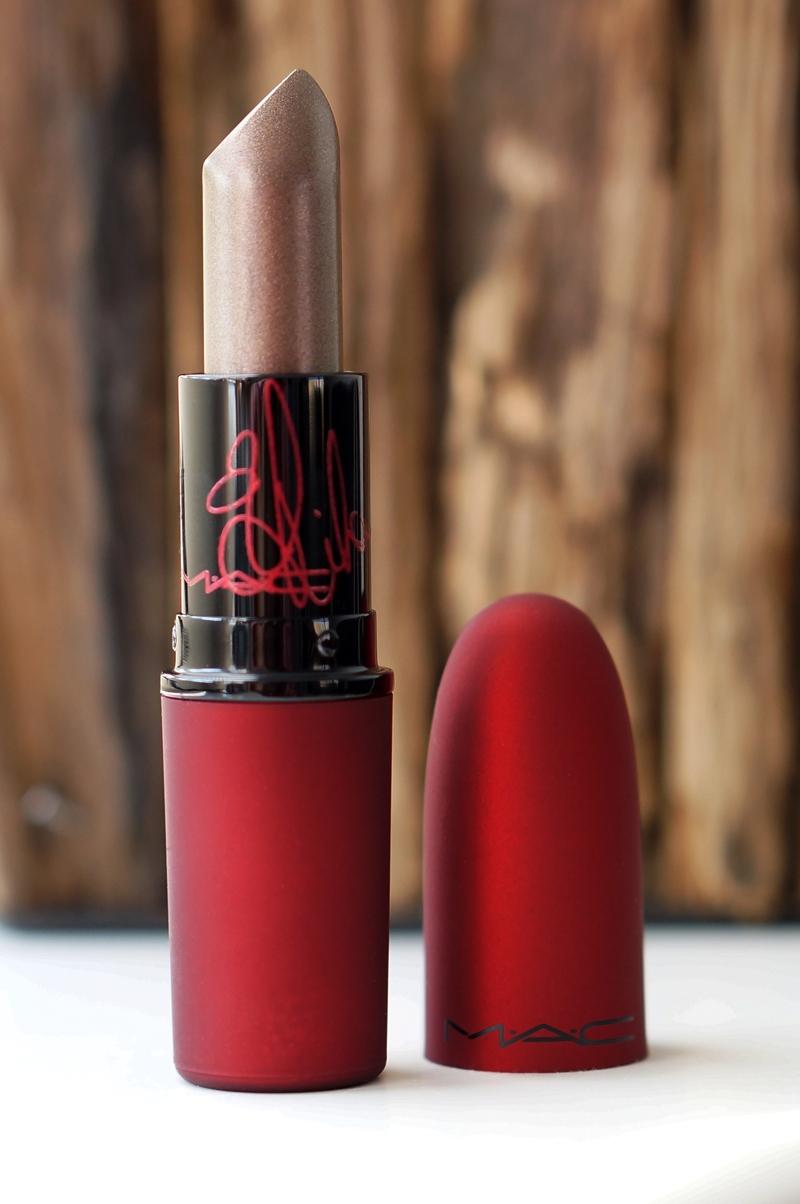 MAC Viva Glam Rihanna II Lipstick swatches