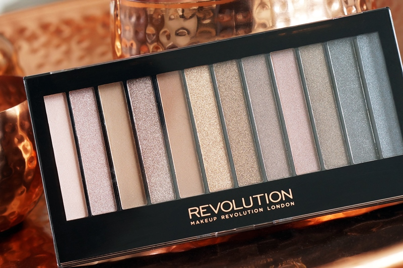 Makeup Revolution Iconic 1 palette (Urban Decay Naked dupe)