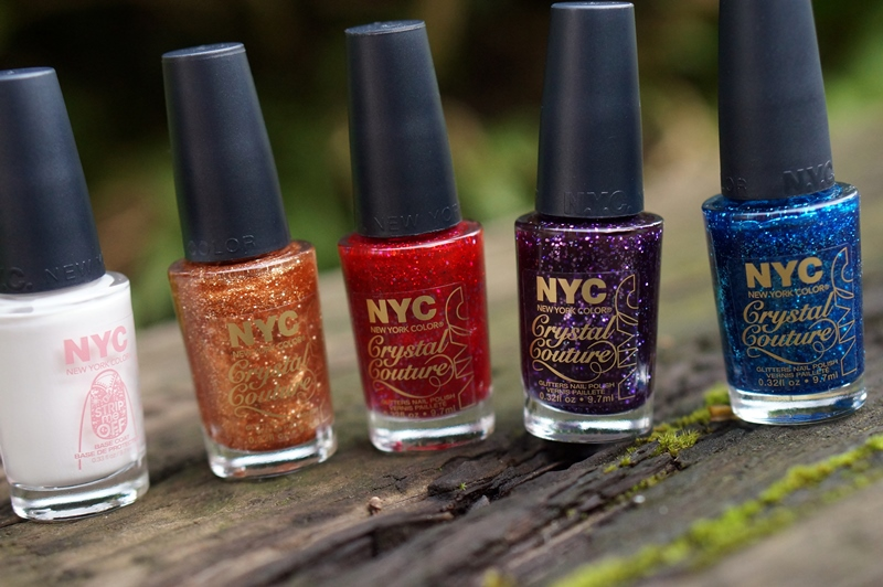 WIN NYC New York Color Crystal Couture + Strip Me Off