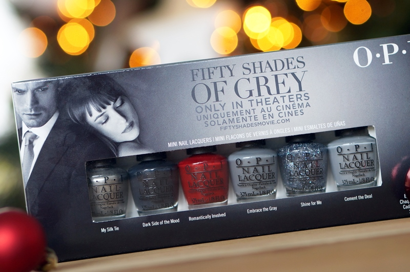 OPI Fifty Shades of Grey nagellak swatches