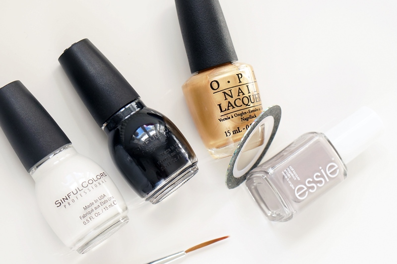 Fashionista Stylebook nail art: Streepjes