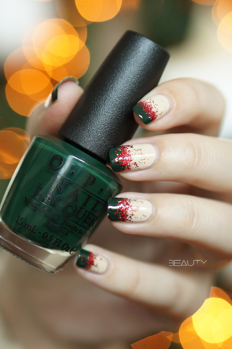 christmas-nail-art-beautyill-step-by-step-green-glitter-red-nude (1)