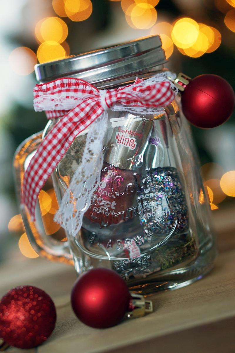 DIY Budget Kerstcadeautjes - Manicure in a Jar