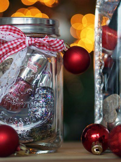 DIY Budget Kerstcadeautjes – Manicure in a Jar