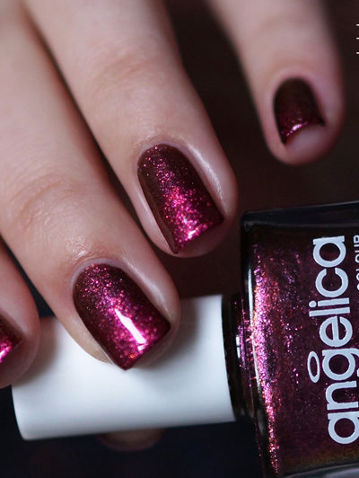 NOTD duochrome gradiënt – Angelica, Primark Tantrum & Accessorize Pink Spice