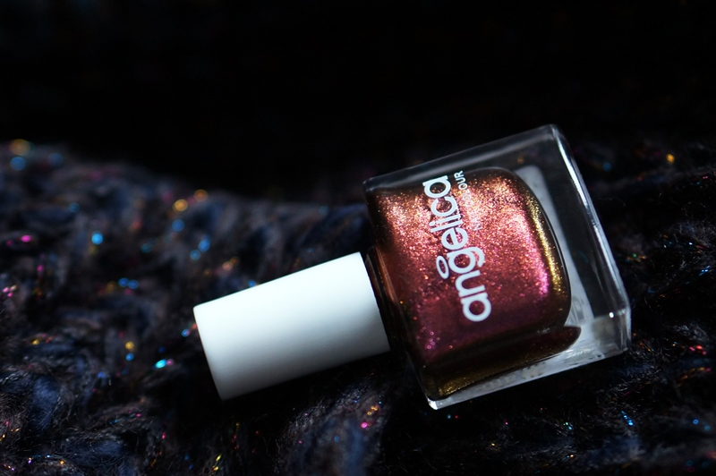 NOTD duochrome gradiënt - Angelica, Primark Tantrum & Accessorize Pink Spice