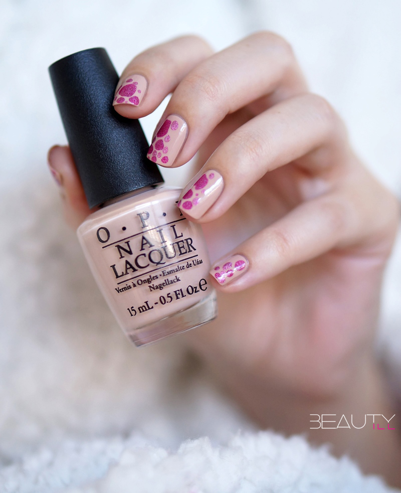 DIY Nail Art | Valentine's Day, easy brush drop nails