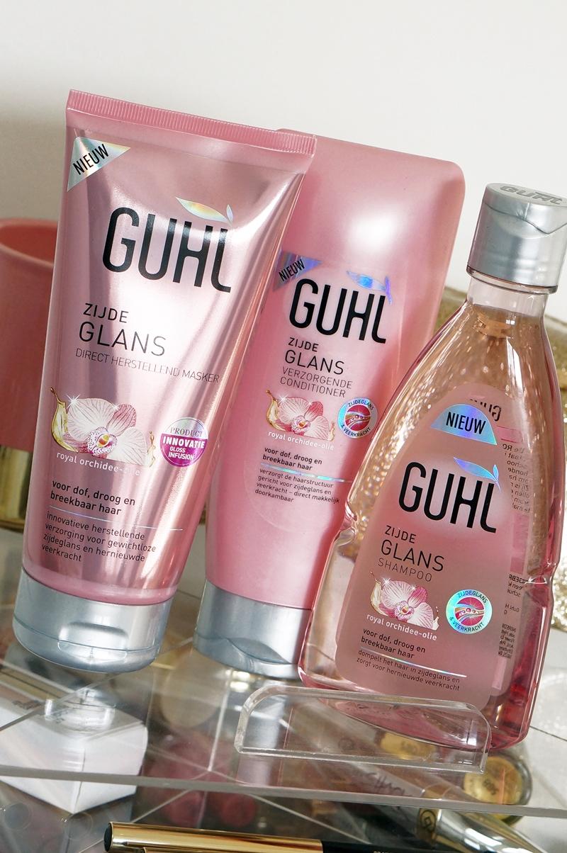 GUHL Zijdeglans shampoo, conditioner & masker