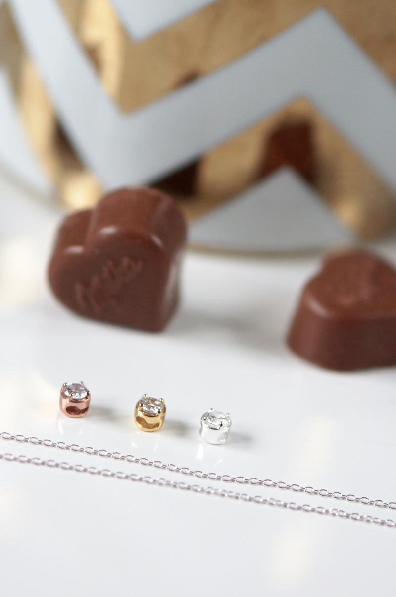 Valentijnsdag Sieraden Tip, Lucardi More Initials ketting