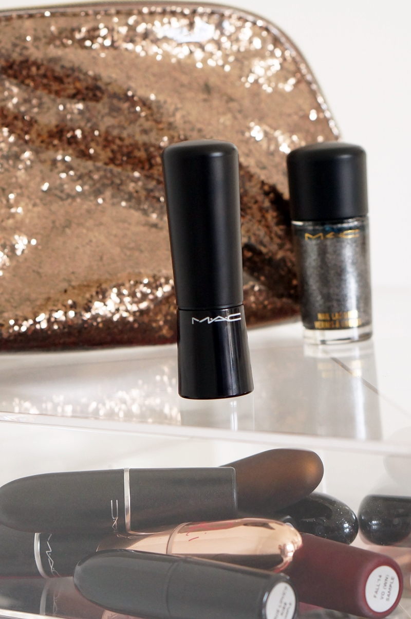 M.A.C. Mineralize Taupe Wood lipstick