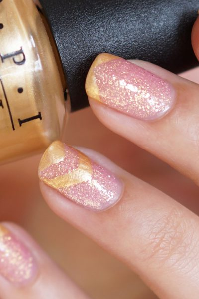 NOTD H&M Candy Crush & OPI Rollin' In Cashmere | Nailart